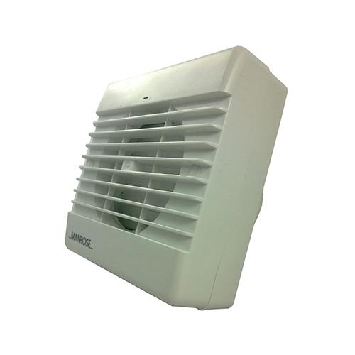 Timed Fan Auto Shutter Ventilation Domestic S100afts Manrose Uk