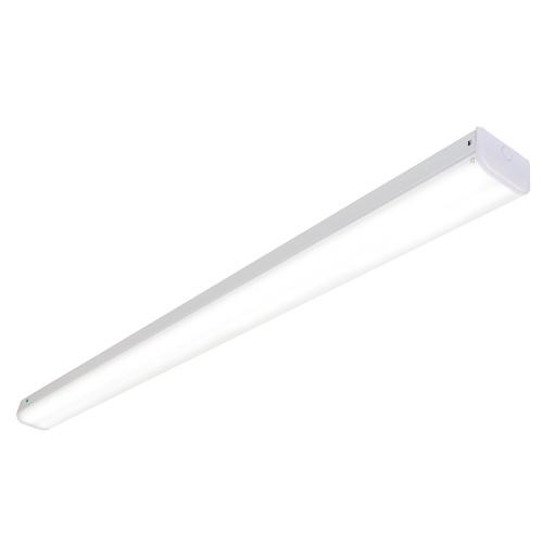 Saxby Lighting Hydron 60W 6ft Twin Emergency LED Batten (White)