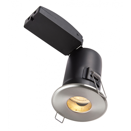 new arrivals 8f428 dd1bd Saxby lighting shieldPLUS IP65 led downlight, bathroom ...