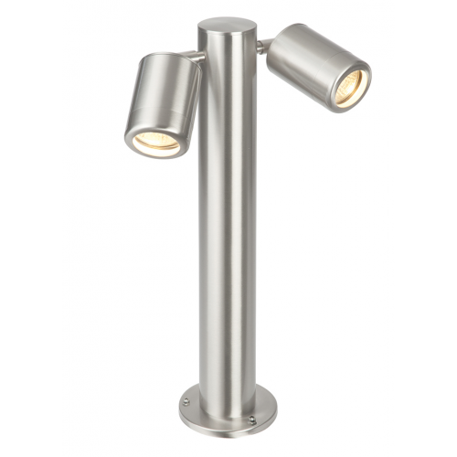 Saxby Atlantis 450mm IP65 Post Light (Brushed Stainless)