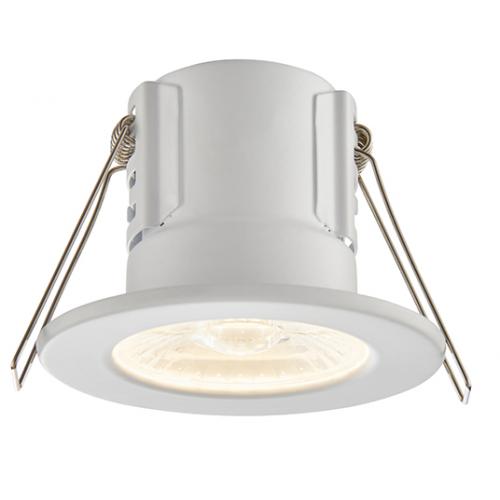 Saxby Lighting ShieldECO 800 IP65 8.5W warm white (Matt White)