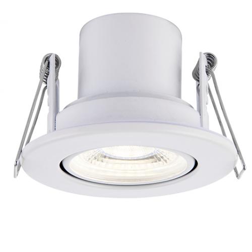 Saxby Lighting ShieldECO 800 Tilt 8.5W cool white (White)