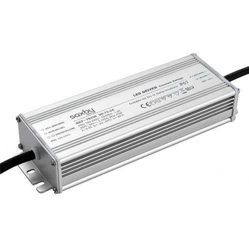 Saxby Lighting LED driver constant voltage IP67 24V 75W (White)