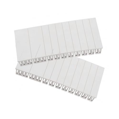 Fusebox 18MM Module Blanks 2 Strips of 12 Blanks (WHITE)
