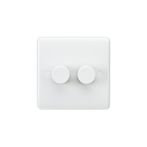 ML Accessories Curved Edge 2G 40-400W Dimmer Home