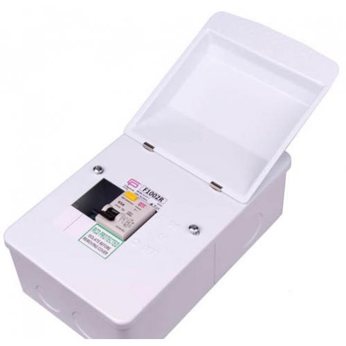 Fusebox 63A 30mA Rcd 2WAY (WHITE)