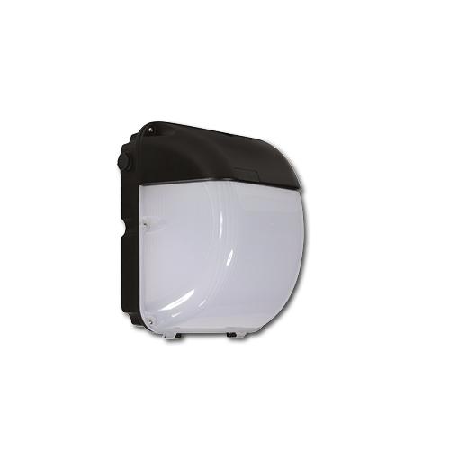 Qvis Lighting External Wall Pack 40W Photocell (Black)