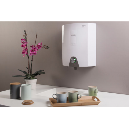 Hyco Omega Wall Mounted 3L Boiling Water Heater (White)