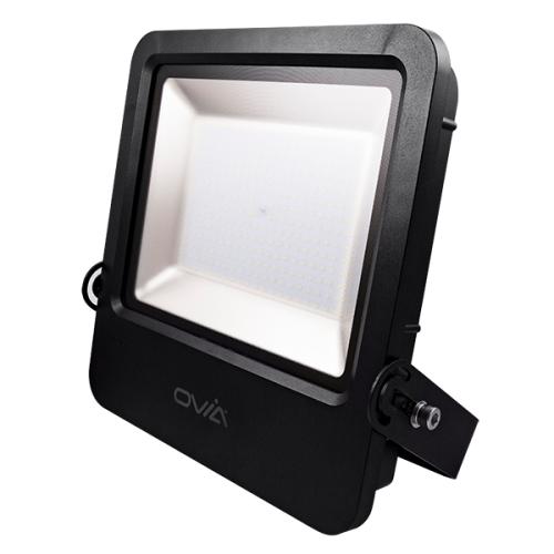 Ovia Pathfinder 200W Led Floodlight - IP65 - 4000K - Black