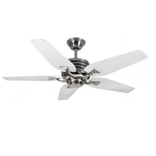 Fantasia omega cs low energy ceiling fan 44 inch ceiling fans fantasia omega cs 44 inch low energy ceiling fan brushed nickel and white aloadofball Image collections