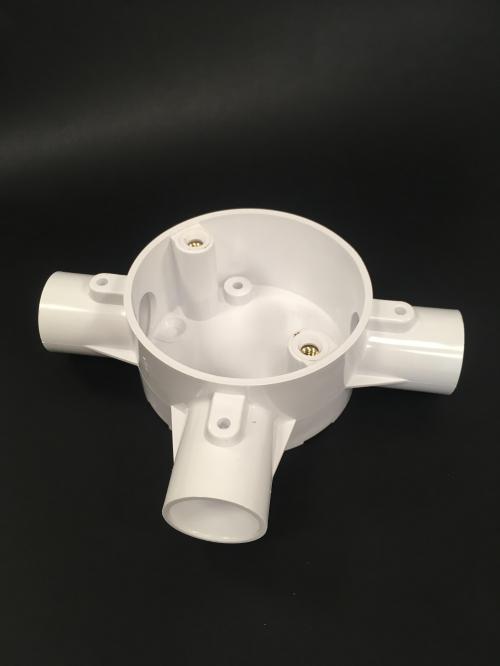MITA 25CJB5W 25mm Conduit Tee Box (White)