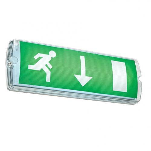 Sight emergency 2w bulkhead outdoor lighting 72636 saxby lighting uk for Exterior emergency exit lights