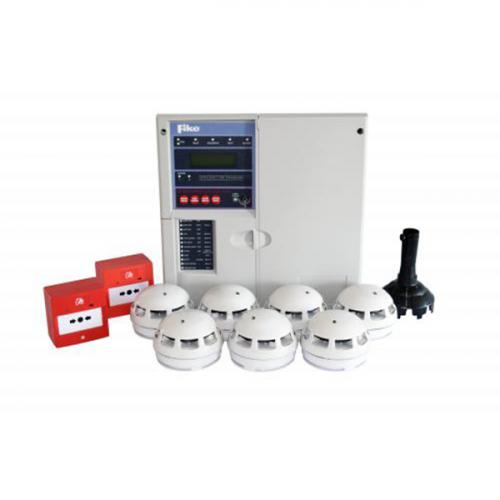 Fike TwinflexPro2 8-Zone Fire Alarm Control Kit (White)