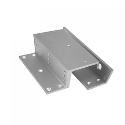 Securefast Z&L Bracket Set for Slimline Magnet to Suit Inward Opening Door (Aluminium)