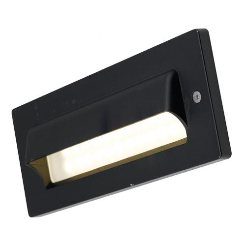 Ansell Fidenza LED Bricklight Front Eyelid Cover (Black)