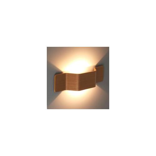 Ansell Mitre Wall Light Oak Front Cover (Oak)
