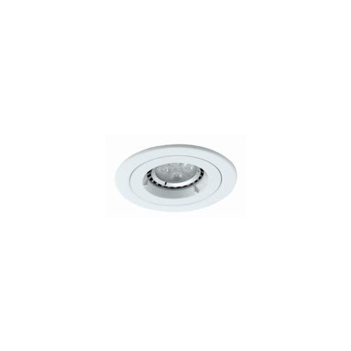 Ansell Twistlock GU10/MR16 IP65 D/light  (Matt White)