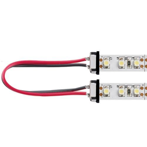 Aurora Lighting Flexible LED Strip Light Interconnection Lead (White)