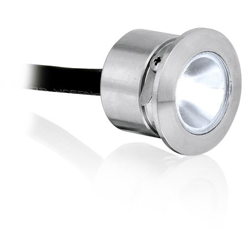 Aurora Lighting 350mA Fixed 1W LED Marker Light (Stainless Steel)