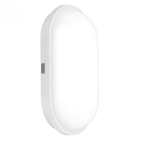Aurora Enlite 20W IP65 Oval LED Bulkhead (Cool White)