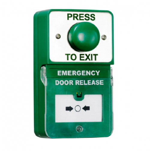 RGL Dual Unit Press to Exit and Emergency Door Release