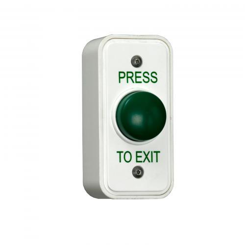 RGL Narrow Style Green Button Press To Exit