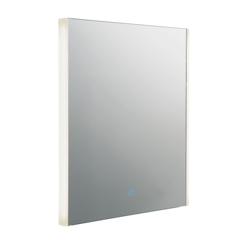 Endon Lighting Mistral 1lt Wall Mirrored glass & silver paint Non-dimmable