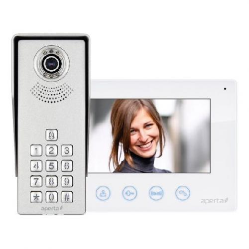kits door esp doors systems product cctv entry white apkitkp uk system keypad colour video