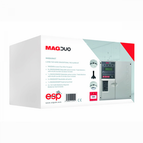 ESP MAGDUO 2 Wire Control Panel 4 Zone Kit