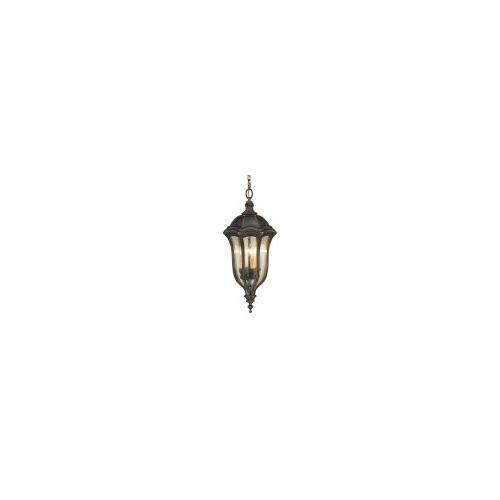 Elstead Baton Rouge 4 Light Chain Lantern (Walnut)