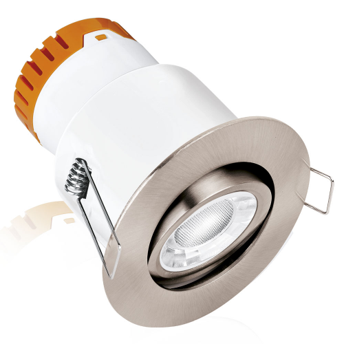 enlite e5 adjustable led downlight fire rated led downlight en
