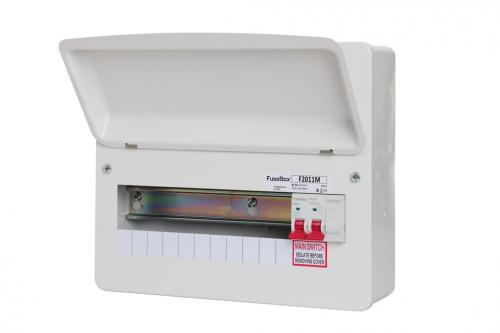 Fusebox 100A M/s 11 Way