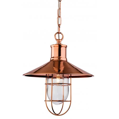 Firstlight Crescent Ceiling Pendant (Copper)