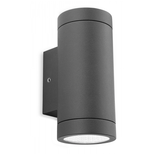 Solid Wall Lamp Led 3w Indoor Wall Light Aluminum Up Down: Firstlight Shelby Twin Led Wall Light, Outdoor Led Wall