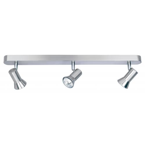 Firstlight Magnum 3 Light Bar Spotlight (Brushed Steel)
