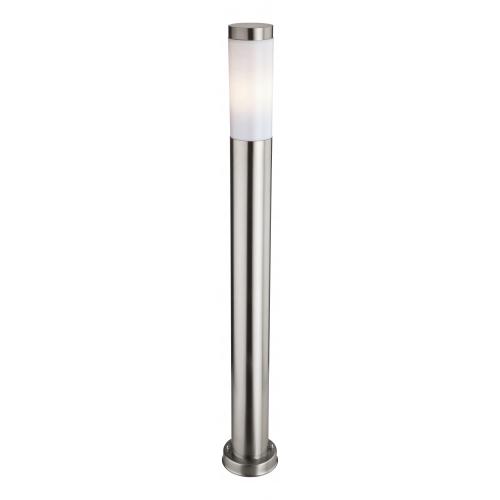 Firstlight 6407ST Plaza Single Tall Post Outdoor IP44 Light (Stainless Steel)