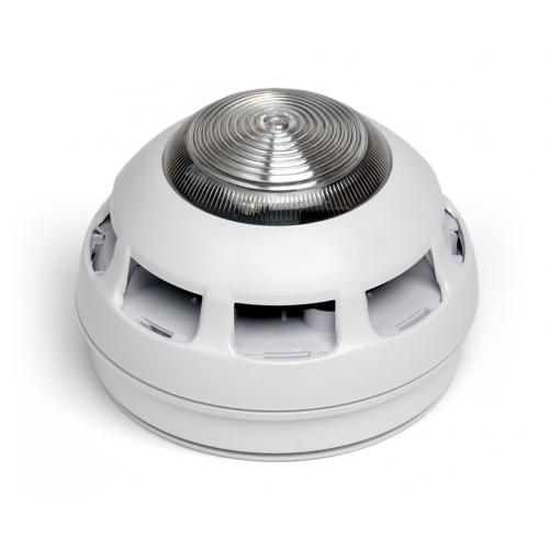 Fike Sita ASD Detector With Sounder & Strobe (White)