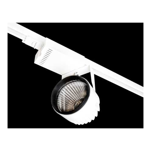 Collingwood Black Track Light Mounted Luminaire 38W(White)