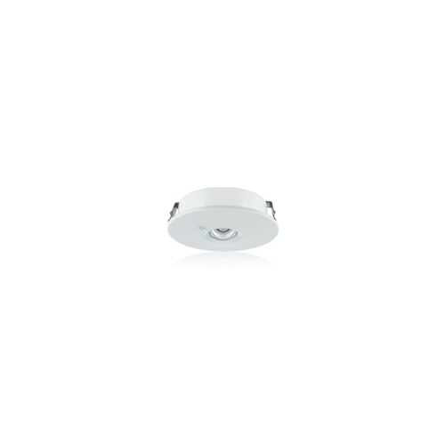 Integral Compact 1W Non Maintained Emergency LED Downlight (Matt White)