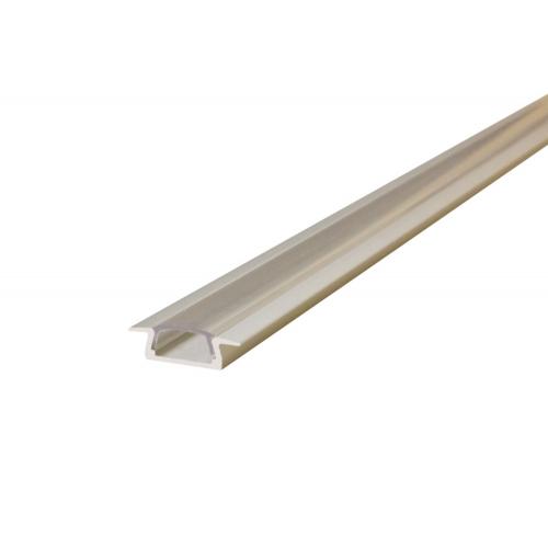 Integral 1 Metre Slim Recessed Aluminium Profile (Clear)