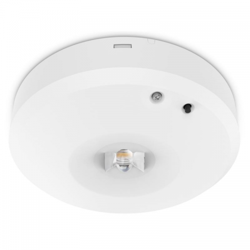 Kosnic Nitro 3W Corridor Surface Mount Non-Maintained Emergency Downlight (White)