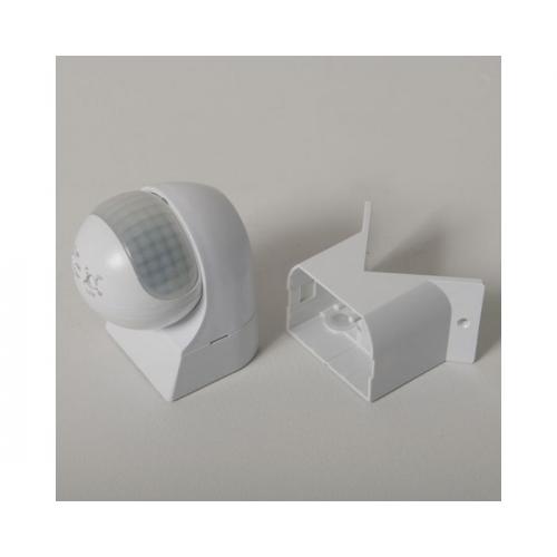 KSR Lighting External PIR Sensor c/w Corner Bracket (White)
