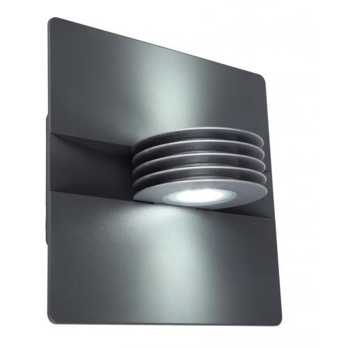 Lutec Split Wall Up & Down 4000K IP44 (Grey)