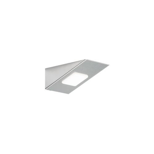 Ml Accessories 12v Dc 3w Led Rectangular Under Cabinet Light Satin Chrome