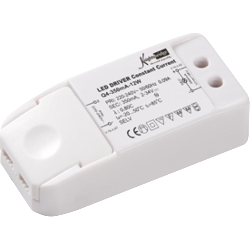 Knightsbridge 350mA 12W LED DriverConstant Current (White)