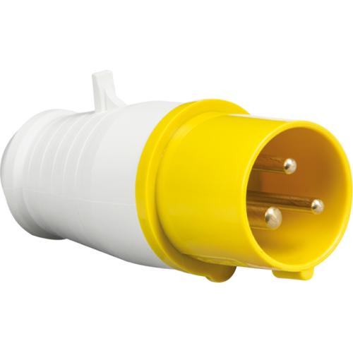 ML Accessories 110V IP44 16A Plug 2P+E x 10 Pack (Yellow/White)