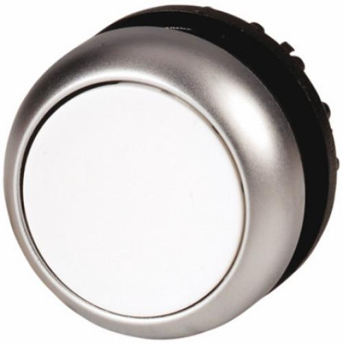 22mm Round White IP69K Momentary Push Button