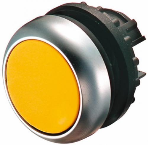 22mm Round Yellow IP69K Momentary Push Button