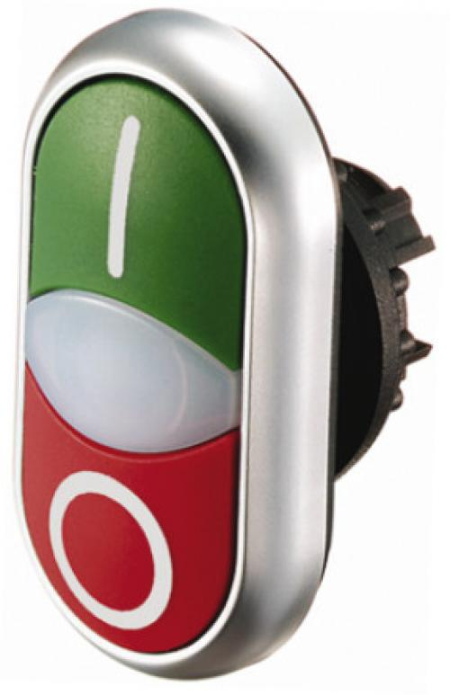 22mm Round Red/Green IP69K Momentary Push Button