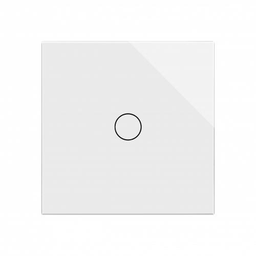 Retrotouch Crystal 1 Gang 1 Way Touch Dimmer (White PG)